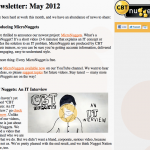Newsletter: May 2012