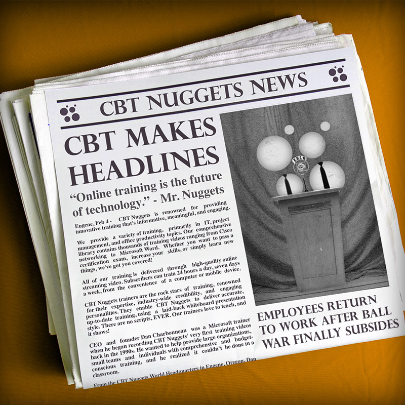 CBT Nuggets in the News