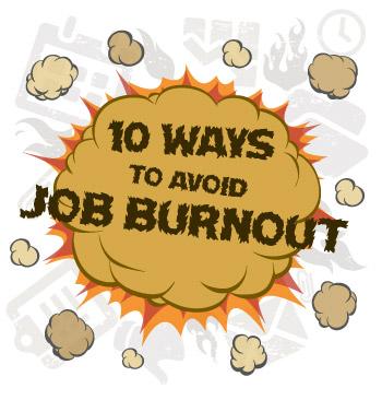 Top Ways to Avoid Job Burnout