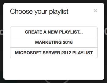 playlist-choose