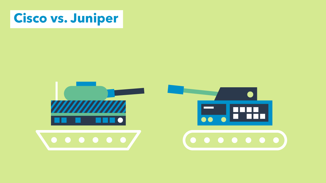 Networking Wars: Cisco vs  Juniper