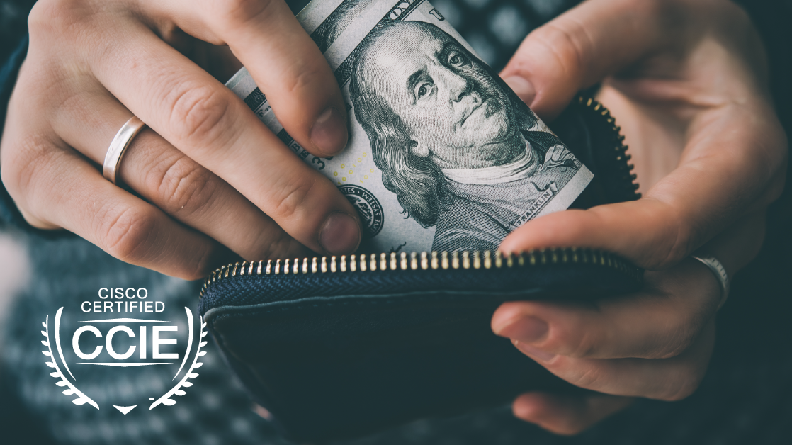 How Much Does It Cost to Earn the CCIE?