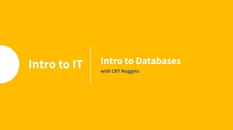 Intro to Databases