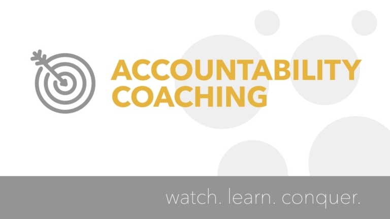 How to Connect with your Accountability Coach
