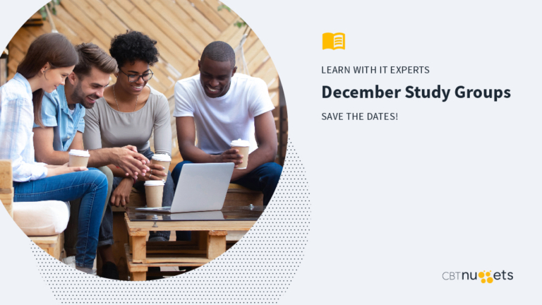 December 2019: Study Groups Schedule