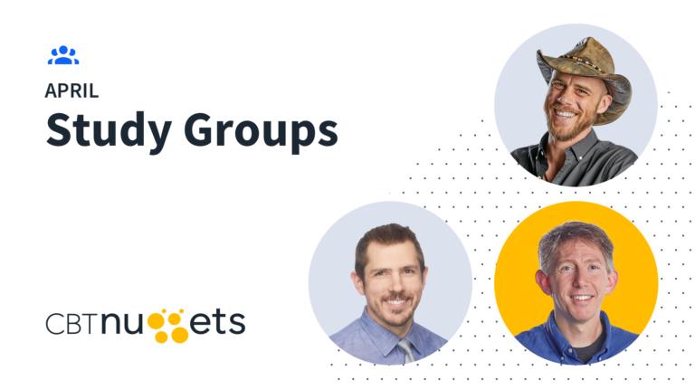 April 2020 Study Groups Schedule