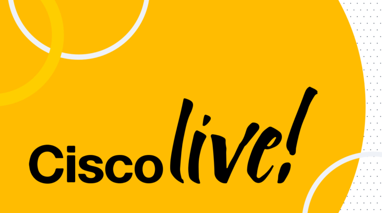 This week: Cisco Live 2020