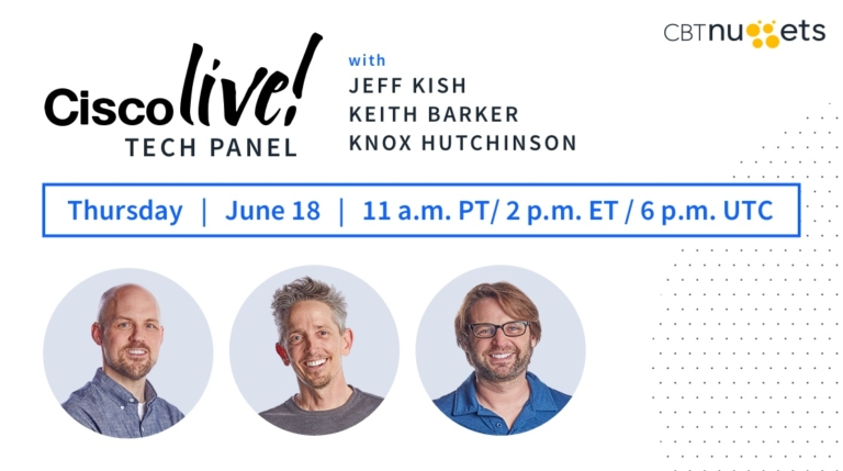 Rescheduled: Free Tech Panel with Keith, Jeff, and Knox