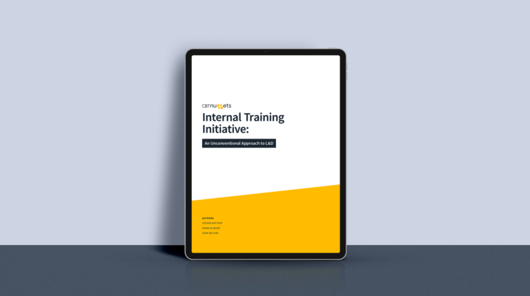 Developing Internal Training Programs: A Free Case Study