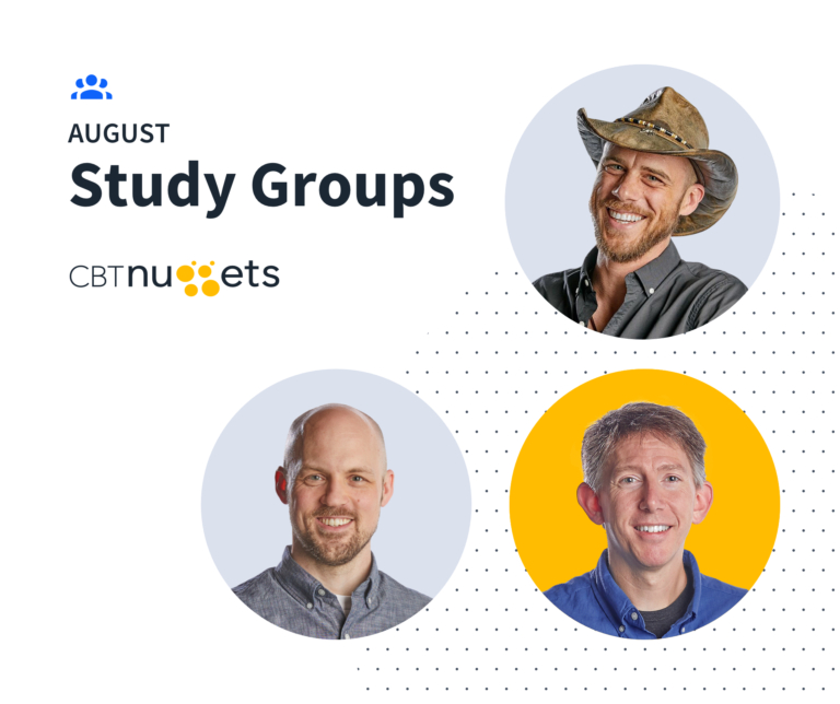 August 2020 Study Groups Schedule