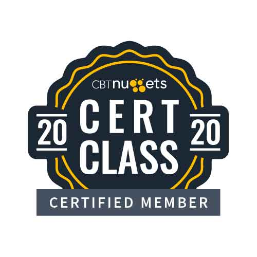 Join the Cert Class of 2020