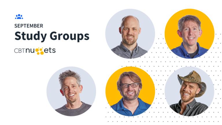 September 2020 Study Groups Schedule