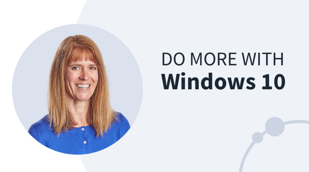 New Training: Do More With Windows 10