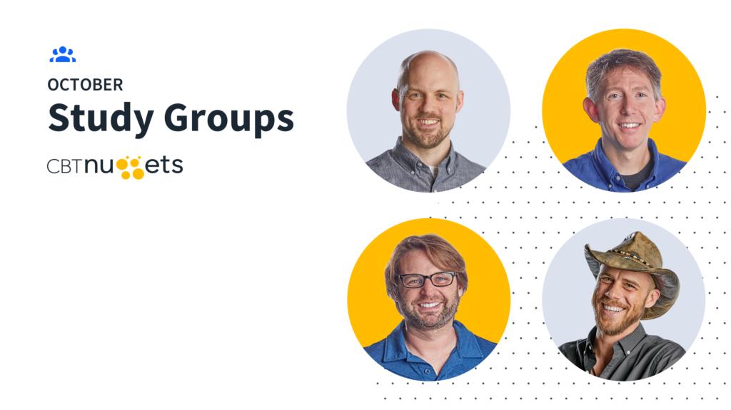 October 2020 Study Groups Schedule