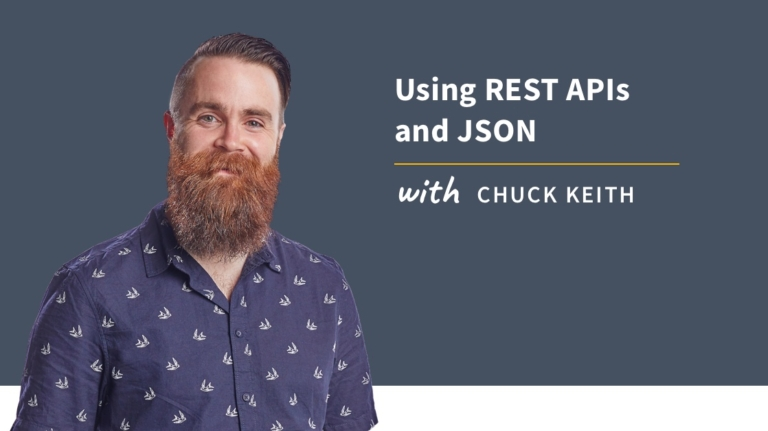 New Training: Using REST APIs and JSON