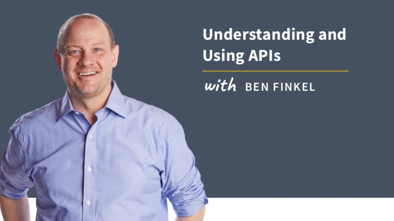 New Training: Understanding and Using APIs
