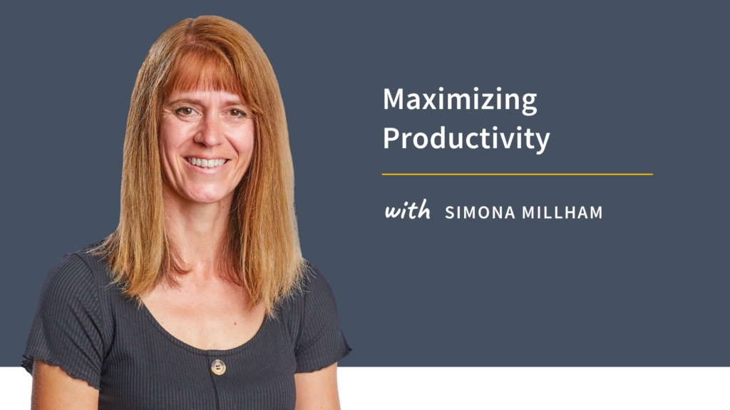 New Training: Maximizing Productivity