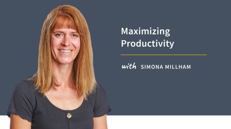 New Training: Maximizing Productivity