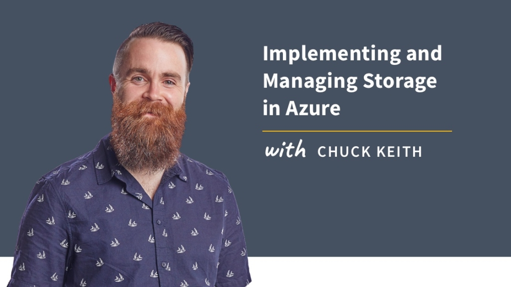 New Training: Implementing and Managing Storage in Azure