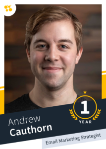 Andrew Cauthorn – Email Marketing Manager