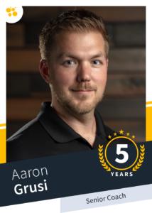 Aaron Grusi – Senior Coach