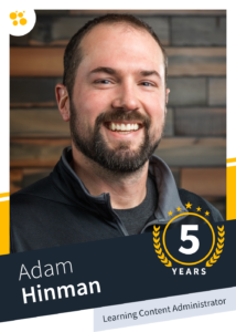 Adam Hinman – Learning Content Administrator
