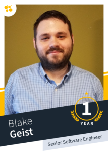 Blake Geist –Senior Software Engineer