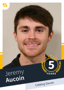 Jeremy Aucion – Catalog Owner