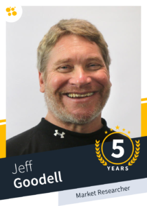 Jeff Goodell – Market Reserach