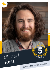 Michael Hess – Content Marketing Manager