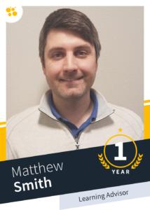 Matthew Smith – Learning Advisor