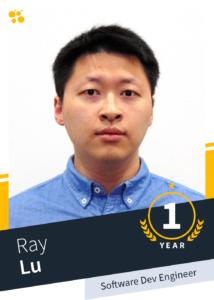 Ray Liu –Software Dev Engineer