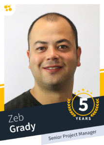 Zeb Grady – Senior Project Manager