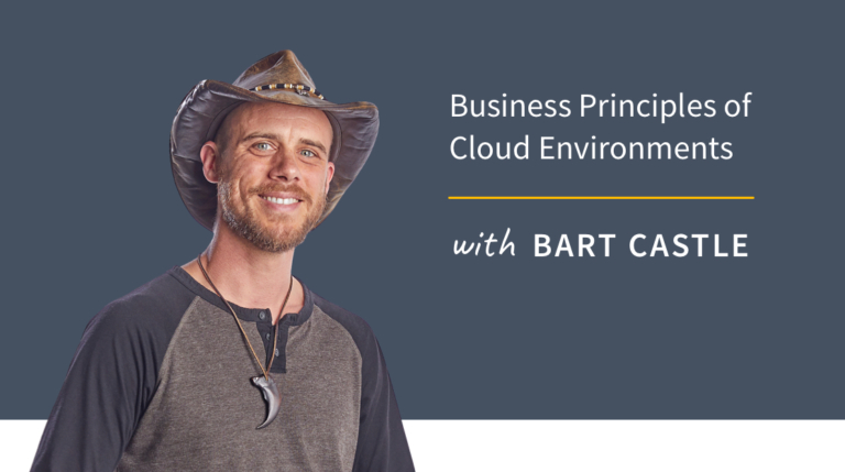New Training: Business Principles of Cloud Environments