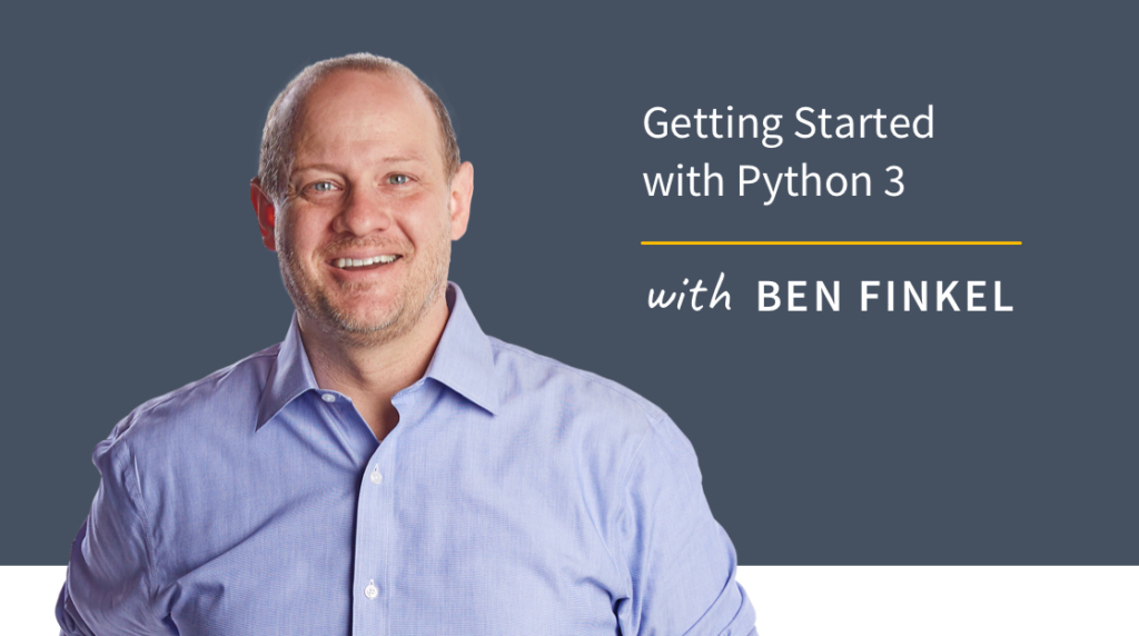 New Training: Getting Started with Python 3