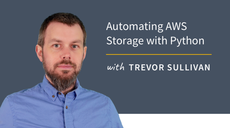 New Training: Automating AWS Storage with Python