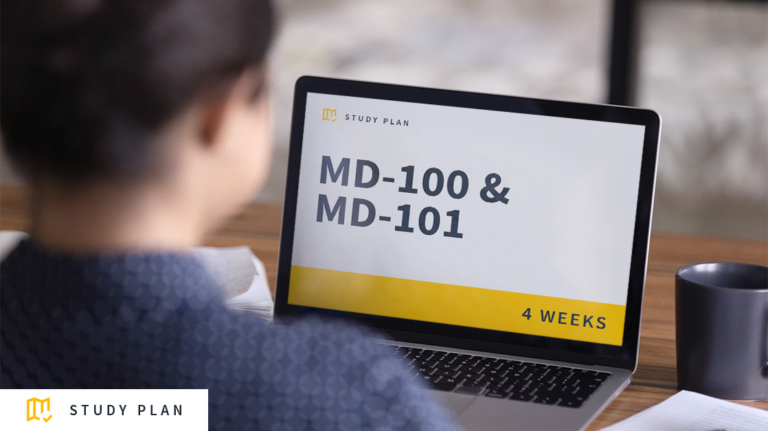 MD-100 & MD-101 Study Plan: Download